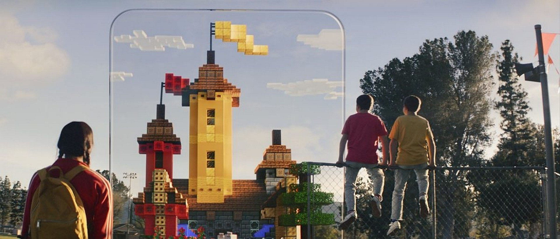 AR Game Minecraft Earth Bridges the Gap Between the Blocky World and Real Life