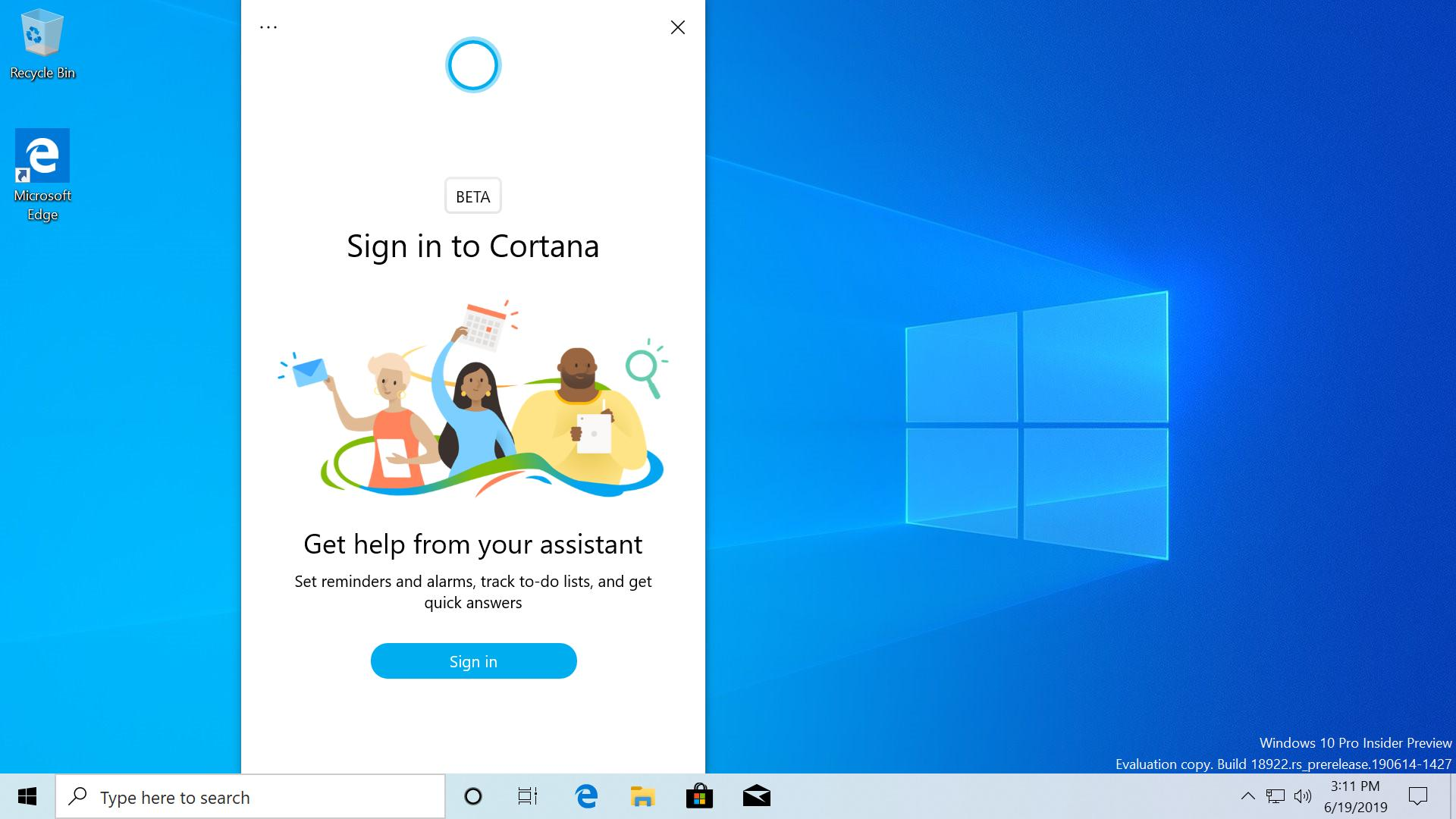 New Cortana UI, ability to rename Virtual Desktops and more coming soon to Windows 10